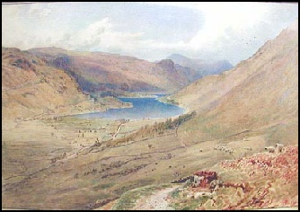old paintigs of the Lake District