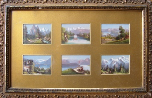 Berner Oberland mountain paintings