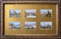 mountain paintings for sale Bernese Oberland six views. Eiger, Monch & Jungfrau