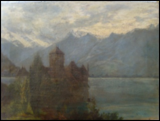 Chateau Chillon  by Edward H. Bearne