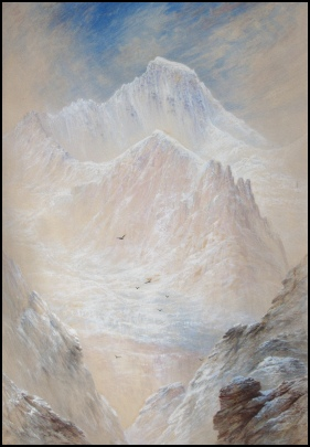 Elijah Walton mountain paintings