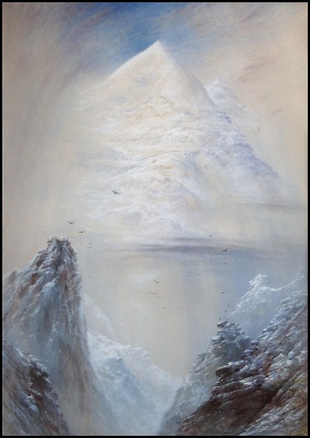 Elijah Walton mountain paintings silberhorn