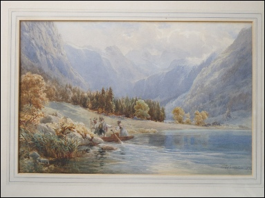 Compton, Edward Theodore. [1849-1921] Head of the Königsee, Bavaria.