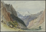 Jungfrau Mountain Painting