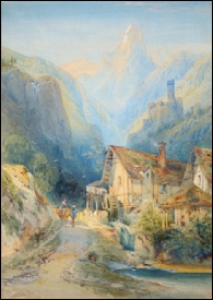 Leitch, Richard Principal [?-1882]	Tyrol, Morning in the. (Cimone della Pala - the Matterhorn of the Dolomites?)