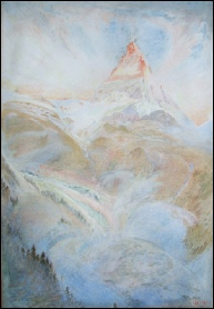 Matterhorn Mountain Paintings