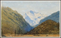Painting of Eiger-Monch-Jungfrau