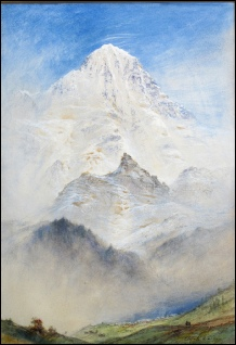 Elijah Walton The Breithorn as seen from Murren
