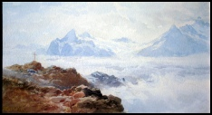 image of mountain painting by Edward Theodore Compton