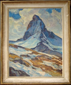 dipinti cervin: matterhorn mountain paintings for sale