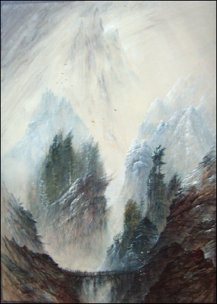 paintings of the Dolomites for sale, dolomite mountain paintings Sasso di Pelmo, Tyrol, dipinti dolomiten