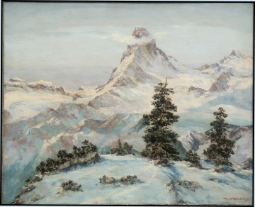 mountain-paintings-Matterhorn