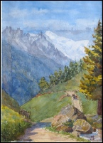 Mont Blanc Paintings Dipinti Monte Bianco Tableaux Mont