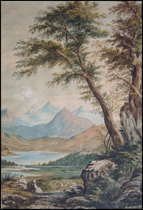 old paintings of Snowdonia for sale